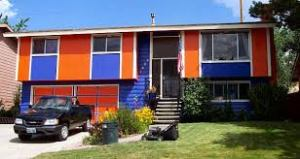 Maybe don't buy THIS ugly house... But - Go Broncos!