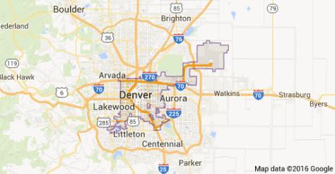 Denver on the Map