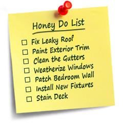 honey-do